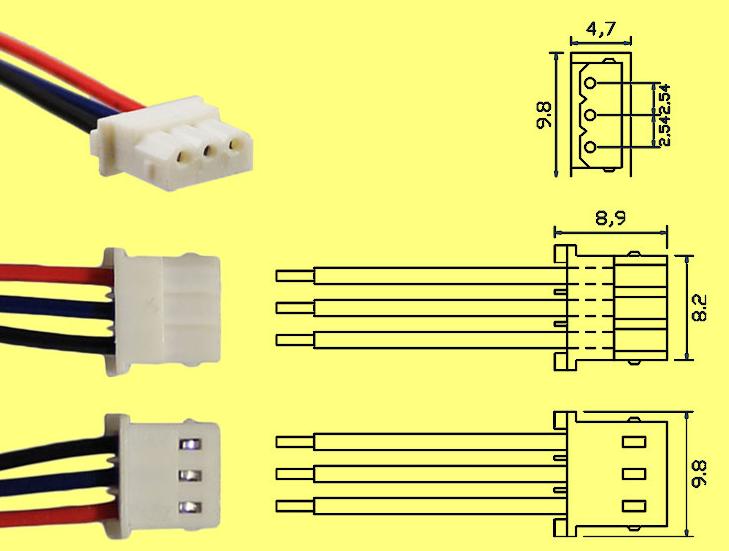 molex 5264 3P-1
