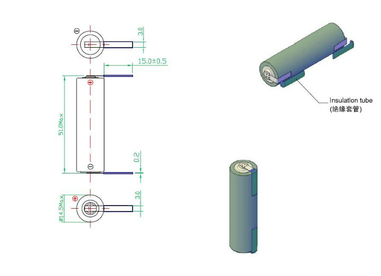 ER14505-T2 pins